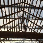 Rondhout (voorbeeld ecologische bouwmaterialen)