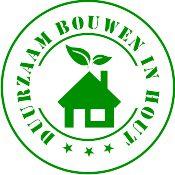 logo duurzaam bouwen in hout